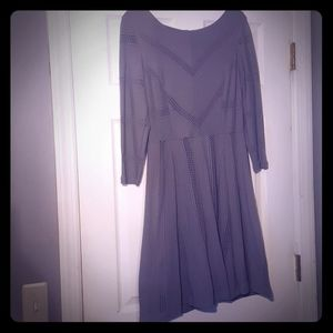Lauren Conrad gray dress size Large